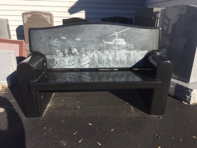 Black Couch Bench
